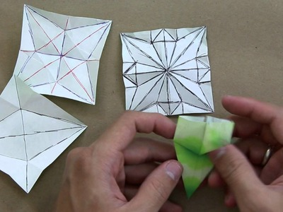 How to solve crease patterns (CP) - Advanced origami lessons