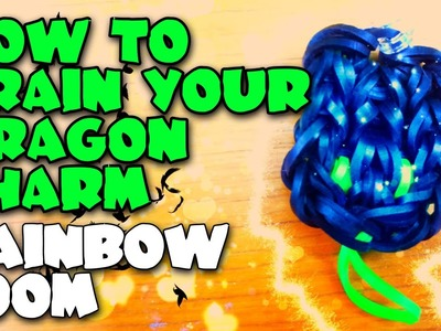 How To Train Your Dragon Head Charm Rainbow Loom