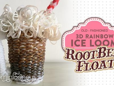 Ice Loom Rootbeer Float: 3D Rainbow Ice Loom Series
