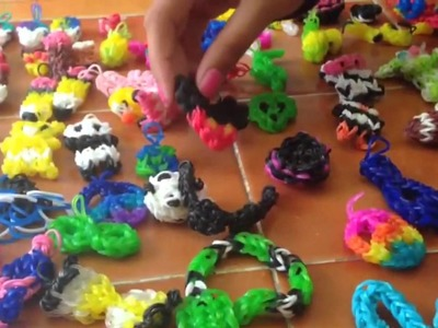 Introduction: Rainbow Loom Charms and Bracelets Collection