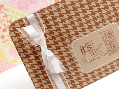 It's OK Card - Make a Card Monday #174
