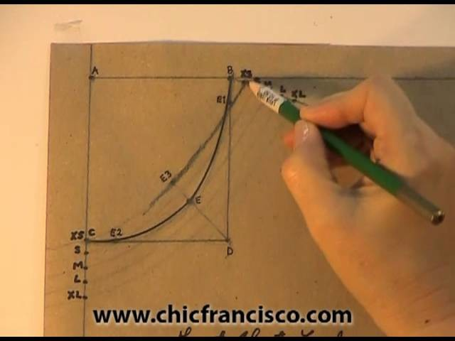Lesson 3-1 Introduction Part 1A - PATTERN DRAFTING OF A STRAIGHT BLOUSE