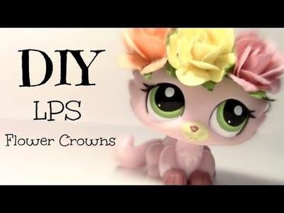 LPS DIY: Flower Crowns
