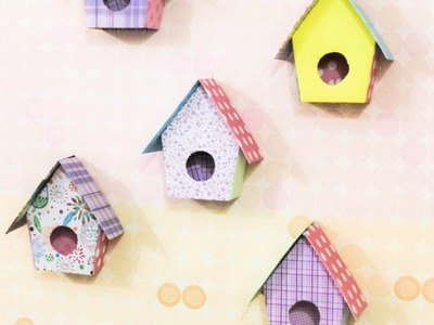 Make Adorable Birdhouse Wall Decorations - Home - Guidecentral