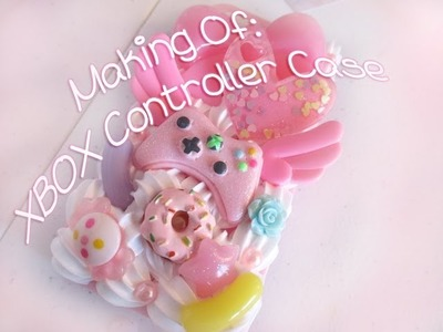 Making of: Kawaii XBOX Controller Decoden Case