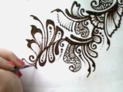 Mehndi pattern 3