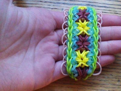 NEW Rainbow Loom Paso Doble Bracelet