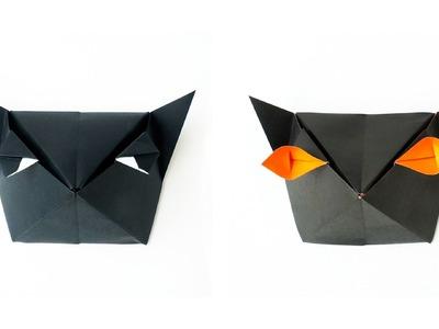 Origami Cat-Head Box :: Caja Cabeza de Gato
