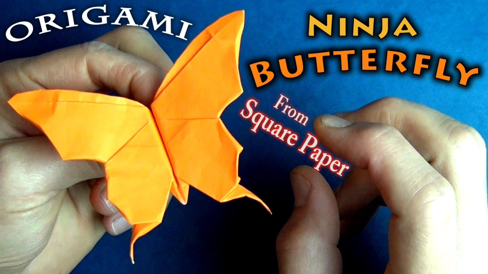 Origami Flapping Butterfly
