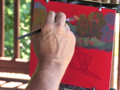 Paint Acrylic Landscapes: Creative Color in Plein Air with Mark Mehaffey - Preview