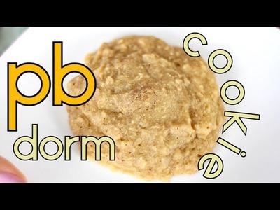 Peanut Butter Dorm Cookie | Cheap Clean Eats