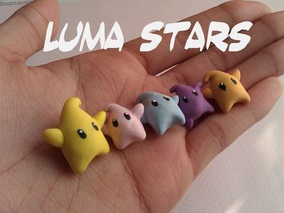 Polymer Clay Luma Star Tutorial :)