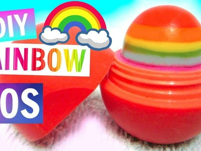 Rainbow EOS | DIY EOS Lip Balm
