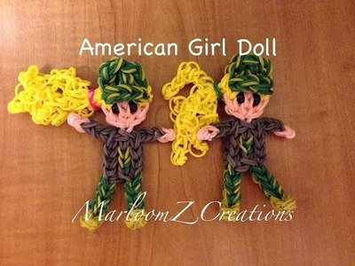 Rainbow Loom: American Girl Camouflage Doll