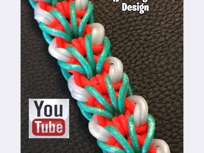 Rainbow Loom Band Every Breath Bracelet How to Tutorial