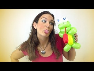 RIBBIT RIBBIT! Frog Balloon Animal How-To Instructions - Tutorial Tuesday!
