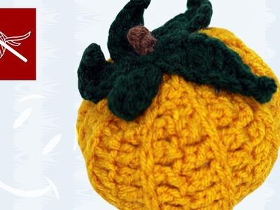 Small Crochet  Halloween Fall Pumpkin Crochet Geek
