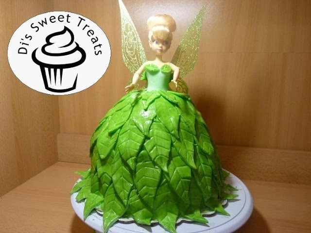Tinker Bell Doll Cake- Di's Sweet Treats