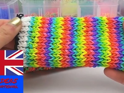 Tip: Folding your loom band telephone cover inside out effect