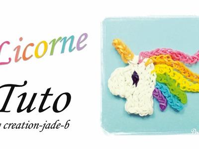 Tuto Rainbow Loom - Tête de Licorne Kawaii (Unicorn) !