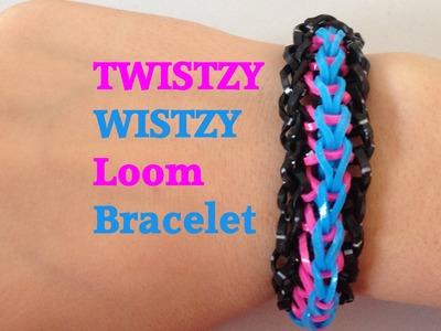 TWISTZY WISTZY Loom Bracelet Tutorial Rainbow Loom l JasmineStarler