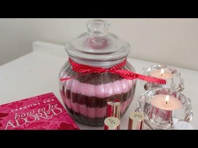 Valentines DIY: Chocolate Strawberries Sugar Scrub