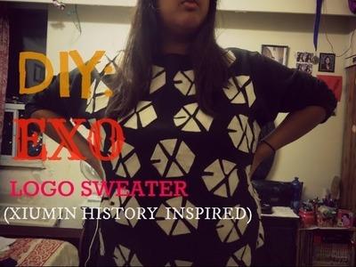 [VLOG46] DIY- EXO Logo Sweater (Xiumin History Inspired)