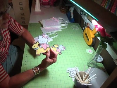 Baby Girl Hello Kitty Gift Bags