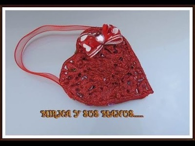 BOLSITA CORAZON DE SILICON. VALENTINE'S DAY GIFTS IDEA