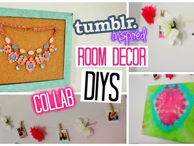 Cheap & Affordable Room Decor DIYs Tumblr Inspired - Lydia Lane Collab | Laurie Martel
