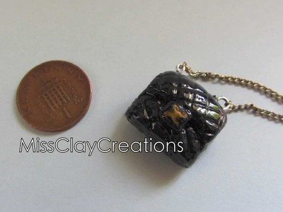Clay Chanel Bag Tutorial by MissClayCreations