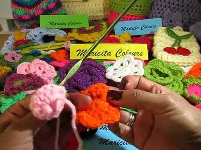 Como Hacer Una Flor De Crochet