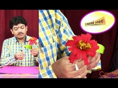 Creative Corner || How to Make a Flowermate Using Crepe Paper