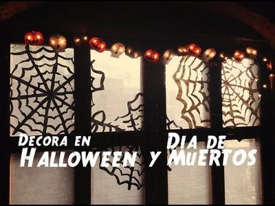 Decoracion Halloween.Día de Muertos -DIY
