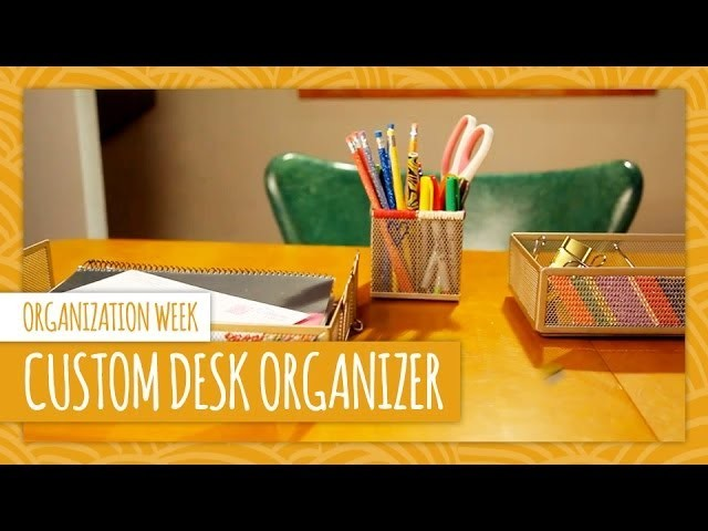 DIY Custom Desk Organizer - HGTV Handmade