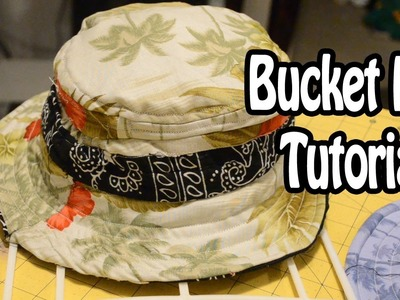DIY: How to make a Bucket Hat | From Scratch #6