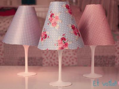 DIY lampshade! Easy room decor ♡ ♡