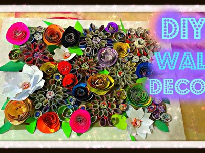 DIY MAGAZINE WALL DECOR