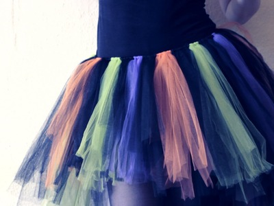 DIY: {NO SEW} Tulle Tutu Skirt - How to - Last Minute