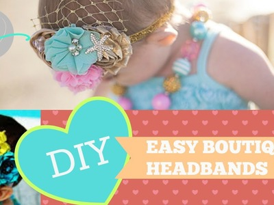 Easy DIY Valentines headbands under $10.00 FT. Faith Baby and Hobby Lobby
