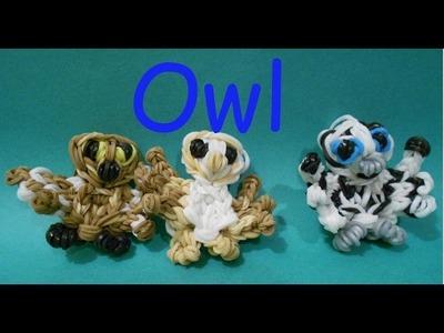 EASY Owl Bird - Rainbow Loom Charms