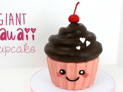 Giant Kawaii Cupcake Tutorial