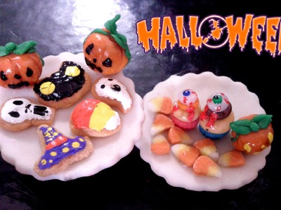 Halloween Miniature Food Tutorial | Halloween Comida para Muñecas