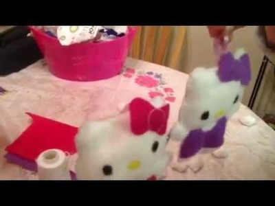Hello kitty manualidades. hello kitty diy