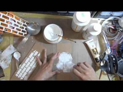 Home made concrete paste (Texture paste)