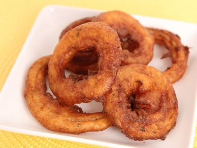Homemade Onion Rings Recipe - Laura Vitale - Laura in the Kitchen Episode 606