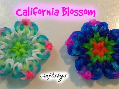 HOOK ONLY California Blossom Charm Rainbow Loom