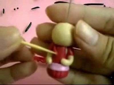 How to make a Chibi (kawaii red girl)