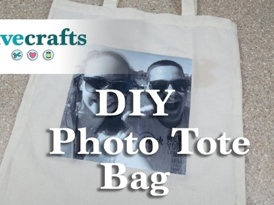 How to make a Customized Photo Tote Bag
