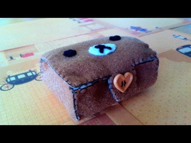 How to Make a Cute 'Rilakkuma Bento Box' from Felt